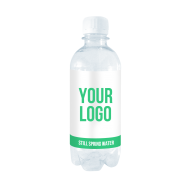 Branded still water 330 ml|PET bottle with full colour label| 120 bottles|Only £ 0.58 per bottle 	 - water-330ml-pet-still.png