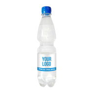 Branded sparkling water 500 ml, PET bottle with full colour label, 120 bottles, Only £ 0.63 per bottle - water-500ml-pet-sparkling.png
